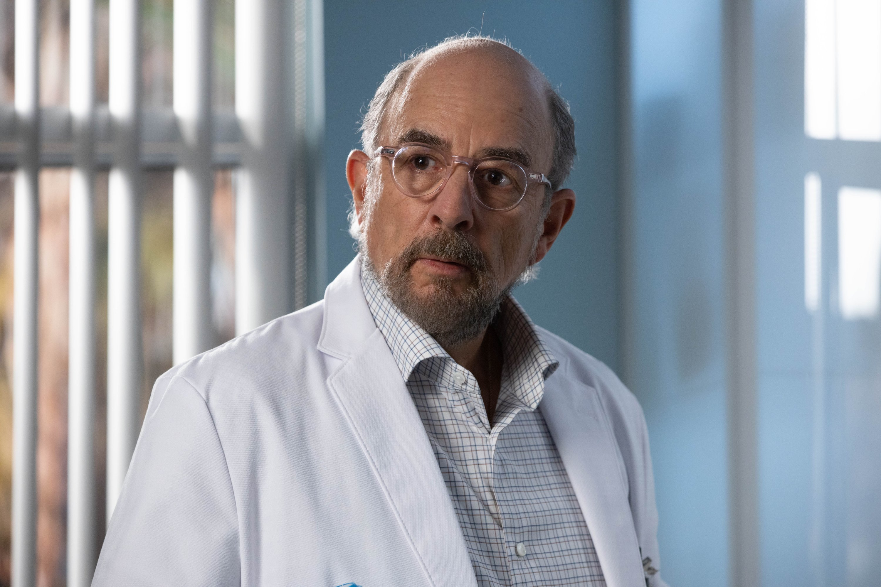 "Richard Schiff starring as Dr. Goodman on season 3 of ""The Good Doctor."" 