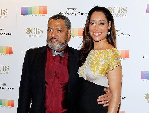 Laurence Fishburne and Gina Torres attend the 38th Annual Kennedy Center Honors Gala at John F. Kennedy Center for the Performing Arts on December 6, 2015 | Photo: Getty Images