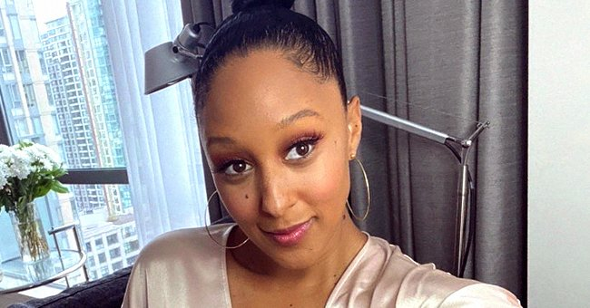 Tamera Mowry's Kids Ariah & Aden Are All Smiles While Celebrating Their Grandpa's Birthday