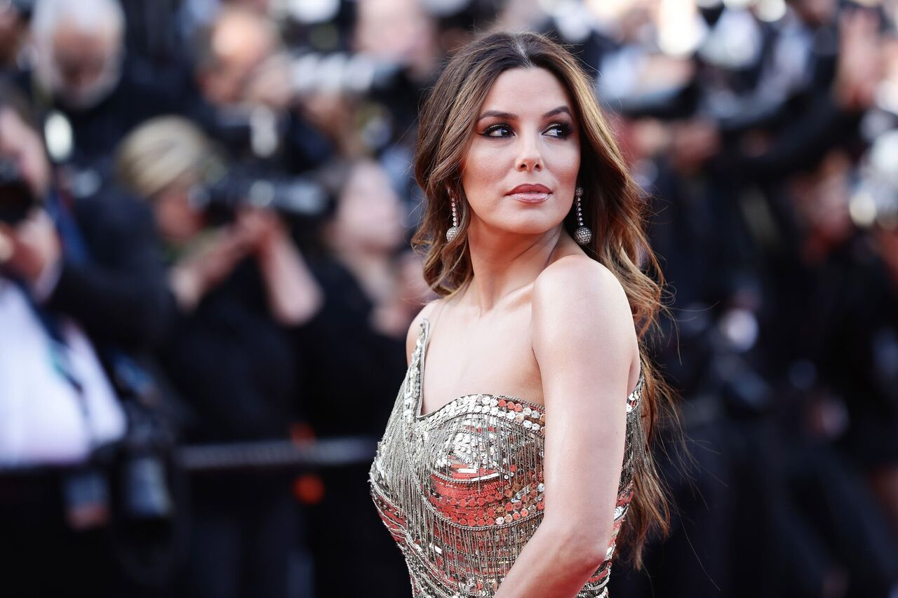 """Eva Longoria attends the screening of """"Rocketman"""" during the 72nd annual Cannes Film Festival on May 16, 2019 in Cannes, France 