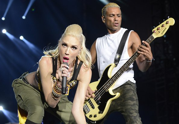 Gwen Stefani and Tony Kanal at Del Mar Fairgrounds on September 18, 2015 in Del Mar, California. | Photo: Getty Images