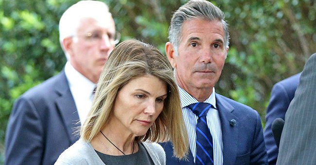 Lori Loughlin's Husband Mossimo Giannulli Debuts Shaved Head Days before Reporting to Prison