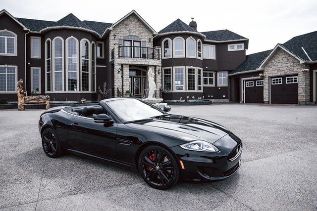 picture of this Maserati in front of a huge mansion in Calgary, Alberta, Canada.   Source: Unsplash