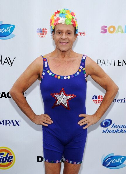 "Richard Simmons attends ""Swim for Relief"" Benefiting Hurricane Sandy Recovery. 