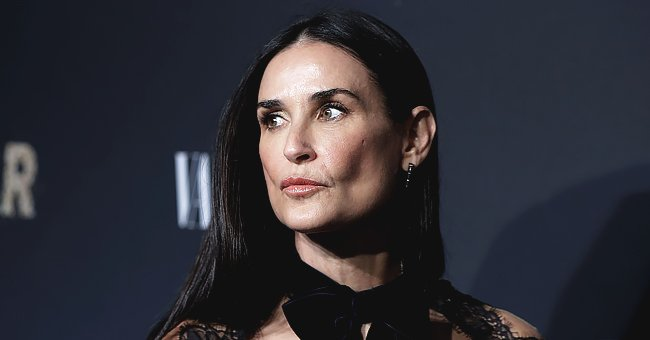 Demi Moore's Fans Gush over Her Timeless Beauty in Throwback 'Striptease' Snap