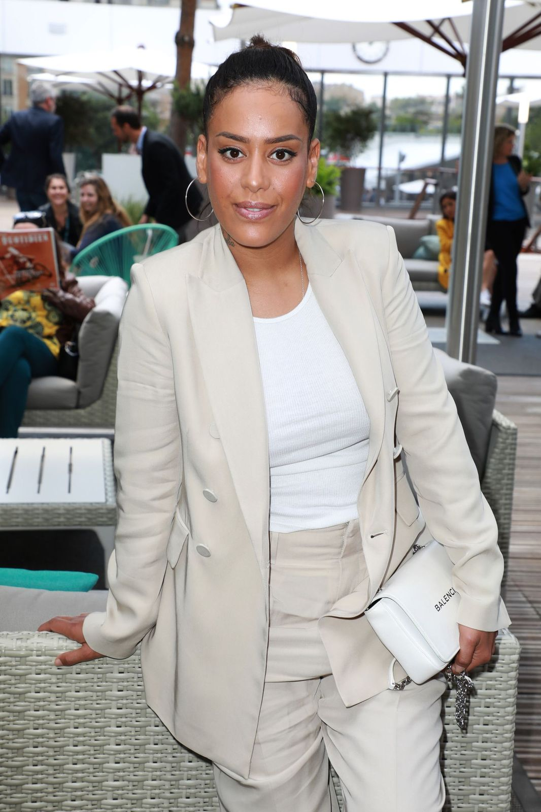 La chanteuse Amel Bent. | Photo : Getty Images.