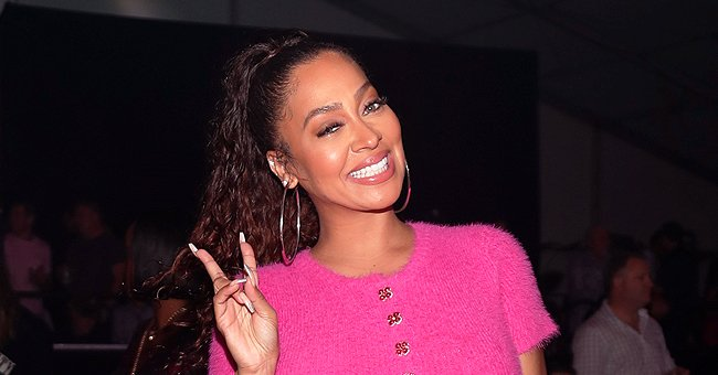 La La Anthony's Son Looks like Her Twin as He Rocks Pink Hoodie in Snaps