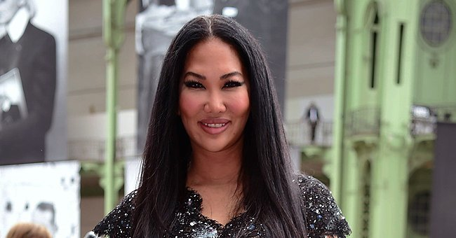 Kimora Lee Simmons Warms Hearts with a Selfie Posing with Her Beautiful Daughters Aoki and Ming