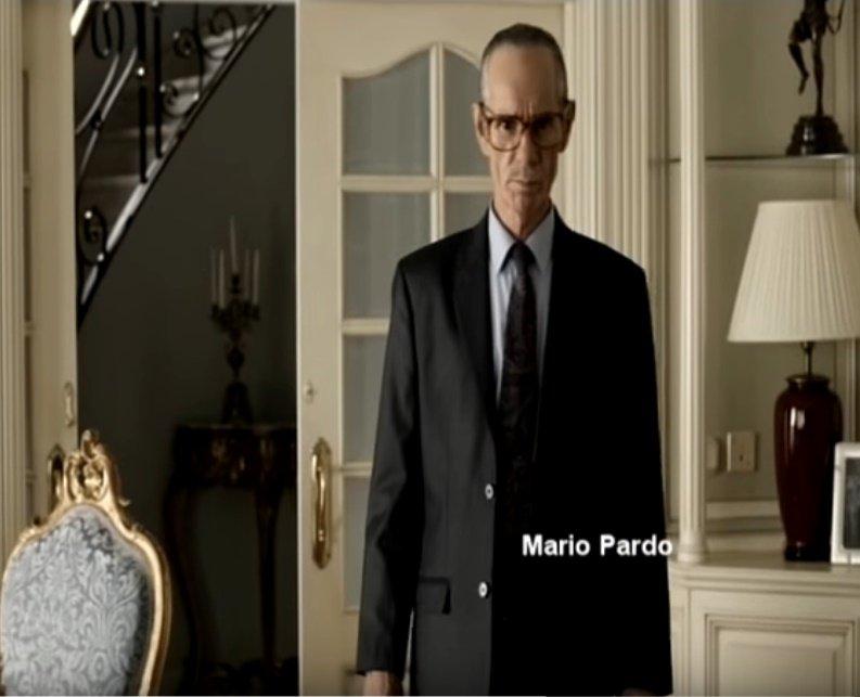 El actor español Mario Pardo en la pantalla. 1 Foto: YouTube/Paco San Jose
