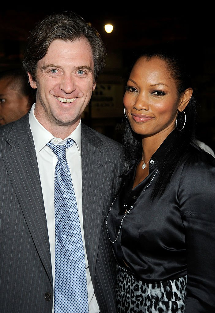 """Garcelle Beauvais and husband Mike Nilon attend the Los Angeles screening of Anchor Bay Entertainments' """"Spread"""" after party held at Katsuya on August 3, 2009. 