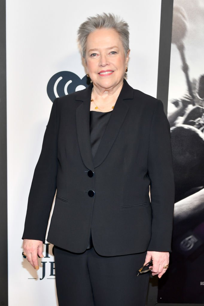 """Kathy Bates attends the """"Richard Jewell"""" screening at Rialto Center of the Arts 