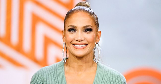 Jennifer Lopez Shows off Her Swag in a Glossy Gold Tracksuit —Check Out Her Look