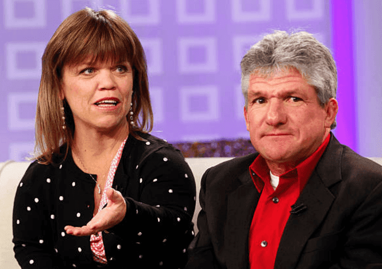"""Amy Roloff and Matt Roloff sit down for an interview on NBC News' """"Today"""" show, on February 16, 2012 