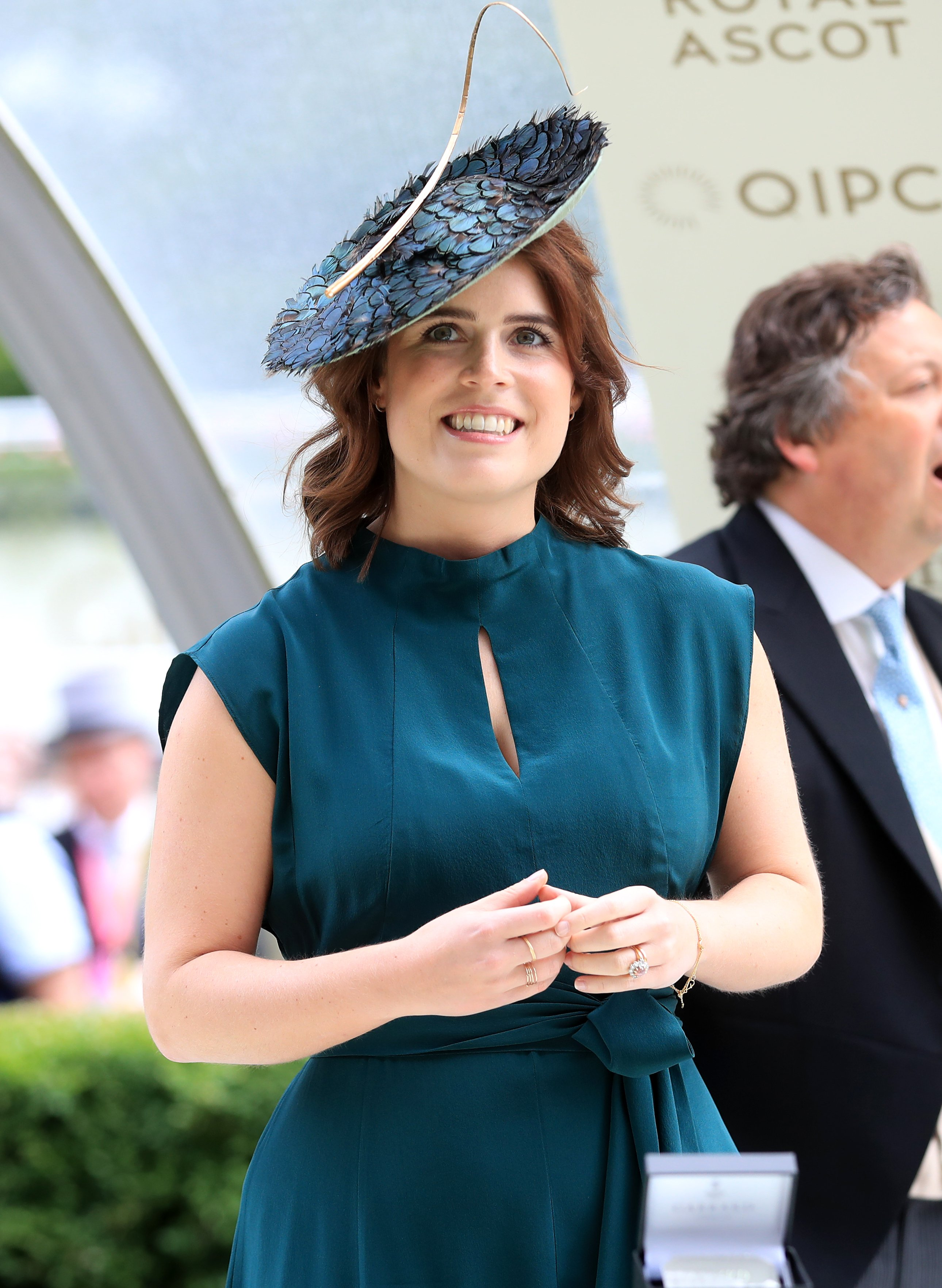 Princess Eugenie pictured at the winners enclosure during day three of Royal Ascot, 2019, Ascot, United Kingdom.   Photo: Getty Images