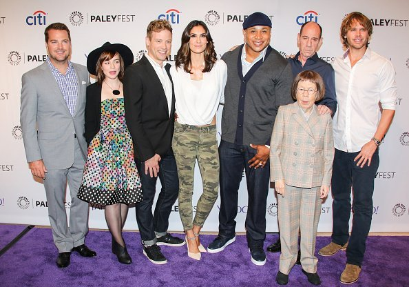 NCIS LA cast in Beverly Hills, California. | Photo: Getty Images.