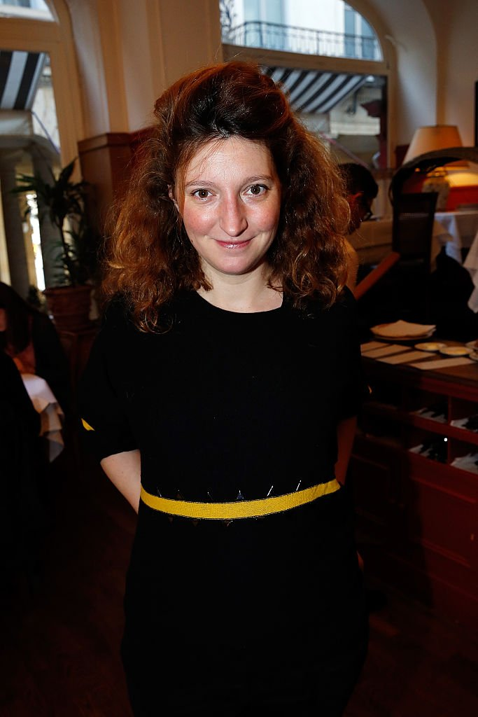 Lea Wiazemsky attends the meeting of the jury for the 'Regine Deforges Prize' at Restaurant Maceo on December 4, 2015 in Paris, France. | Photo : Getty Images