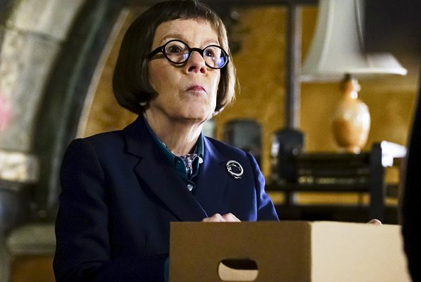 Linda Hunt (Henrietta 'Hetty' Lange). After NCIS fails to locate a mole in the department, Under Secretary of Defense Corbin Duggan | Photo: Getty Images