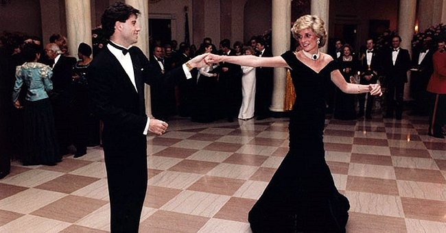 Princess Diana's Famous Blue 'John Travolta' Dress Returns to the Palace after Failing to Sell at Auction