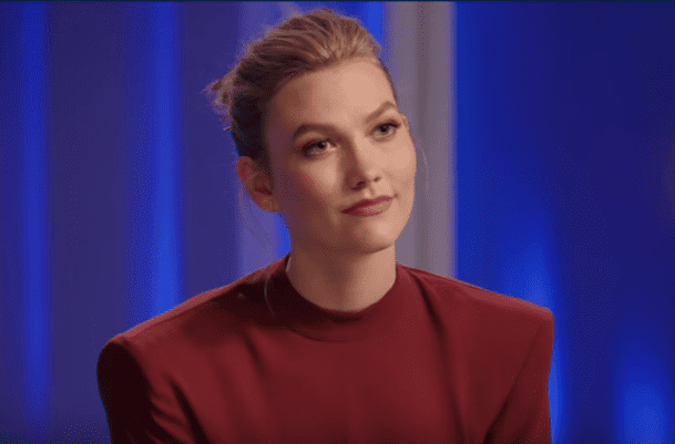 "Model, Karlie Kloss, on the ""Watch What Happens Live with Andy Cohen"" show on January 16, 2020. 