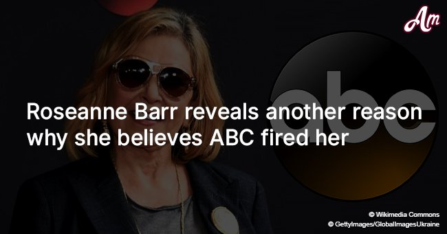 Roseanne Barr reveals another reason why she believes ABC fired her