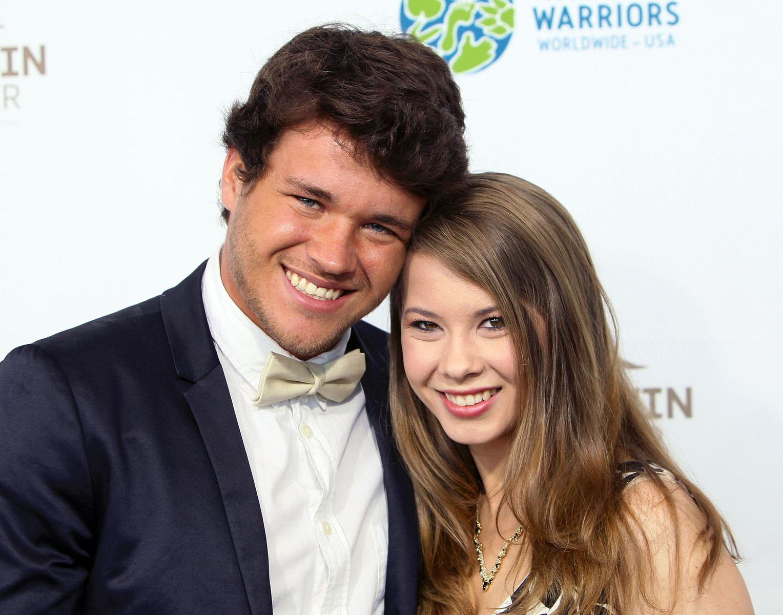 Chandler Powell and Bindi Irwin at the Steve Irwin Gala Dinner at JW Marriott Los Angeles at L.A. LIVE on May 21, 2016   Photo: Getty Images