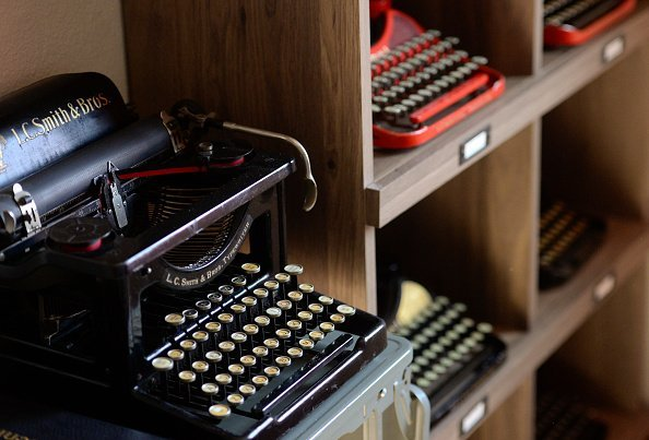 A typewriter | Photo: Getty images