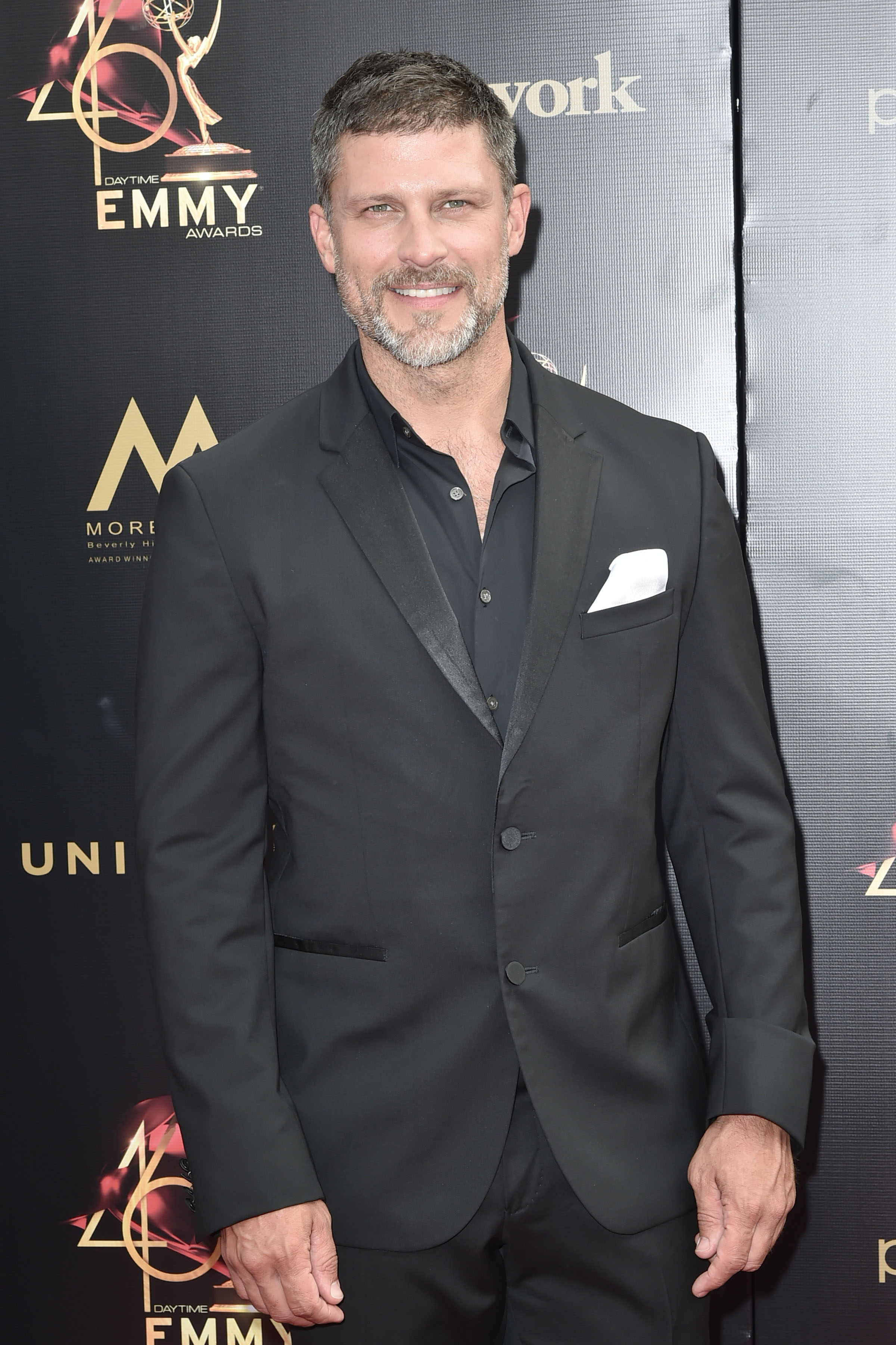Greg Vaughan attends the 46th annual Daytime Emmy Awards on May 05, 2019, in Pasadena, California. | Source: Getty Images