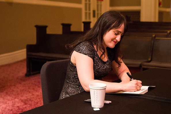 Mara Wilson signs copies of her new book at Town Hall Seattle | Image: Getty Images
