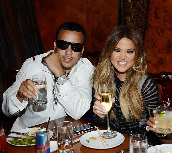 French Montana and Khloe Kardashian celebrate Khloe Kardashian's 30th birthday at TAO bistro on July 4, 2014 in Las Vegas, Nevada | Photo: Getty Images