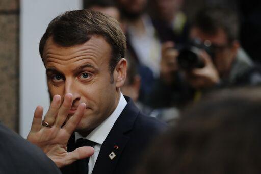 La photo d'Emmanuel Macron | Source: Getty Images / Global Ukraine