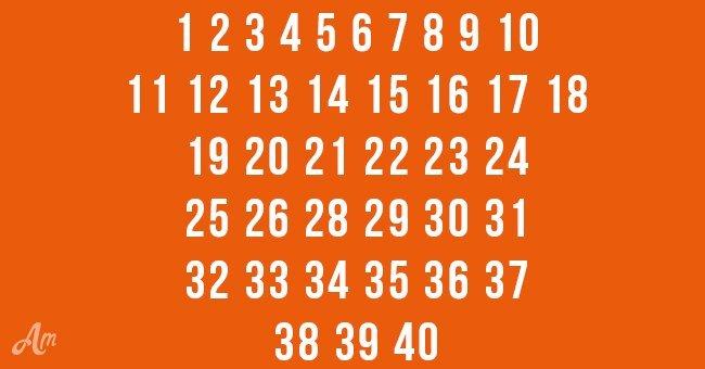 Welche Zahl fehlt?