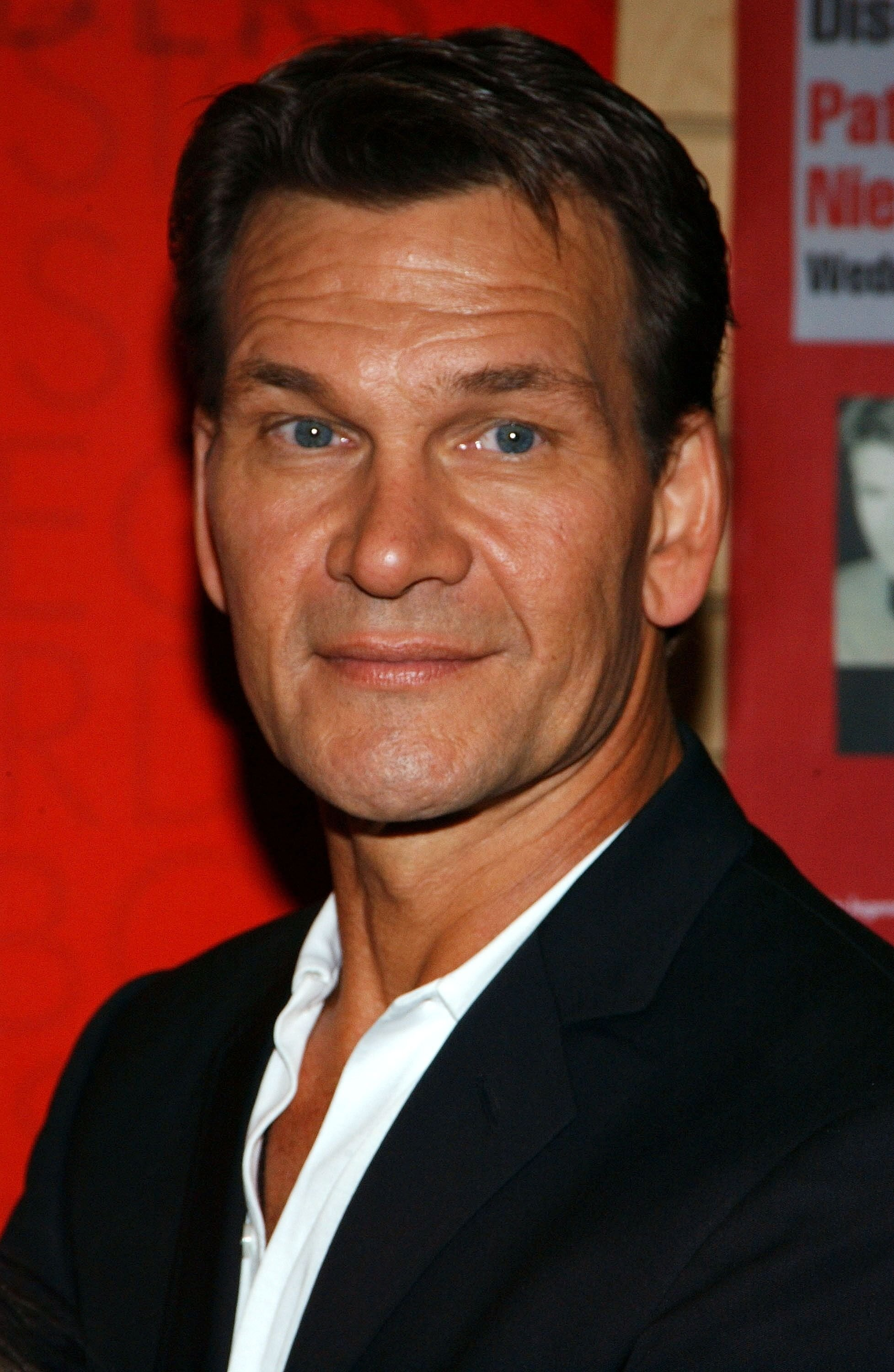 """Patrick Swayze appears at Borders Bookstore to sign copies of his new movie """"One Last Dance."""" 