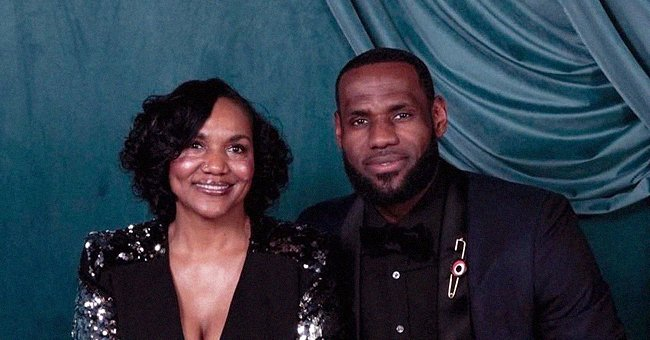 LeBron James' Mom Gloria Stuns in a Black Ensemble in a Photo He Proudly Posted on Her Birthday