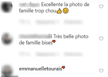 Commentaires des fans sur la photo de Laurent Ournac | Photo : Laurentournac/Instagram