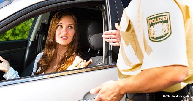 Un policier a essayé de verbaliser une femme pour excès de vitesse