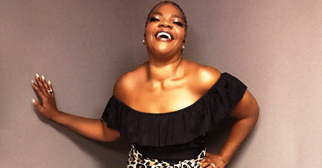 Mo'Nique Is '51 and Feeling 15' as She Flashes a Slimmer Leg in Animal Print Skirt