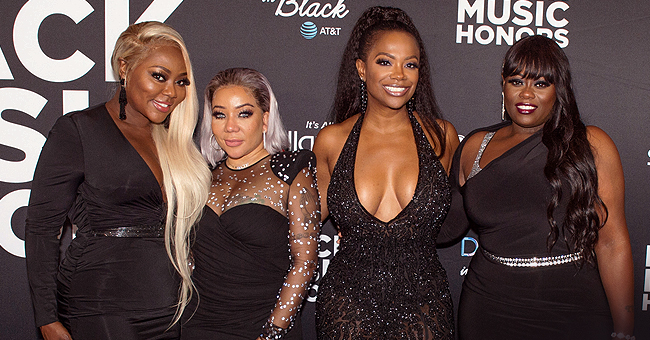 XSCAP3's Tiny Harris Posts Old Pic of RHOA's Kandi Burruss, Gives Shoutout to Her Friend's Cleavage