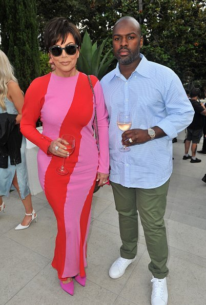 Corey Gamble and Kris Jenner on June 21, 2018 in Beverly Hills, California | Photo: Getty Images