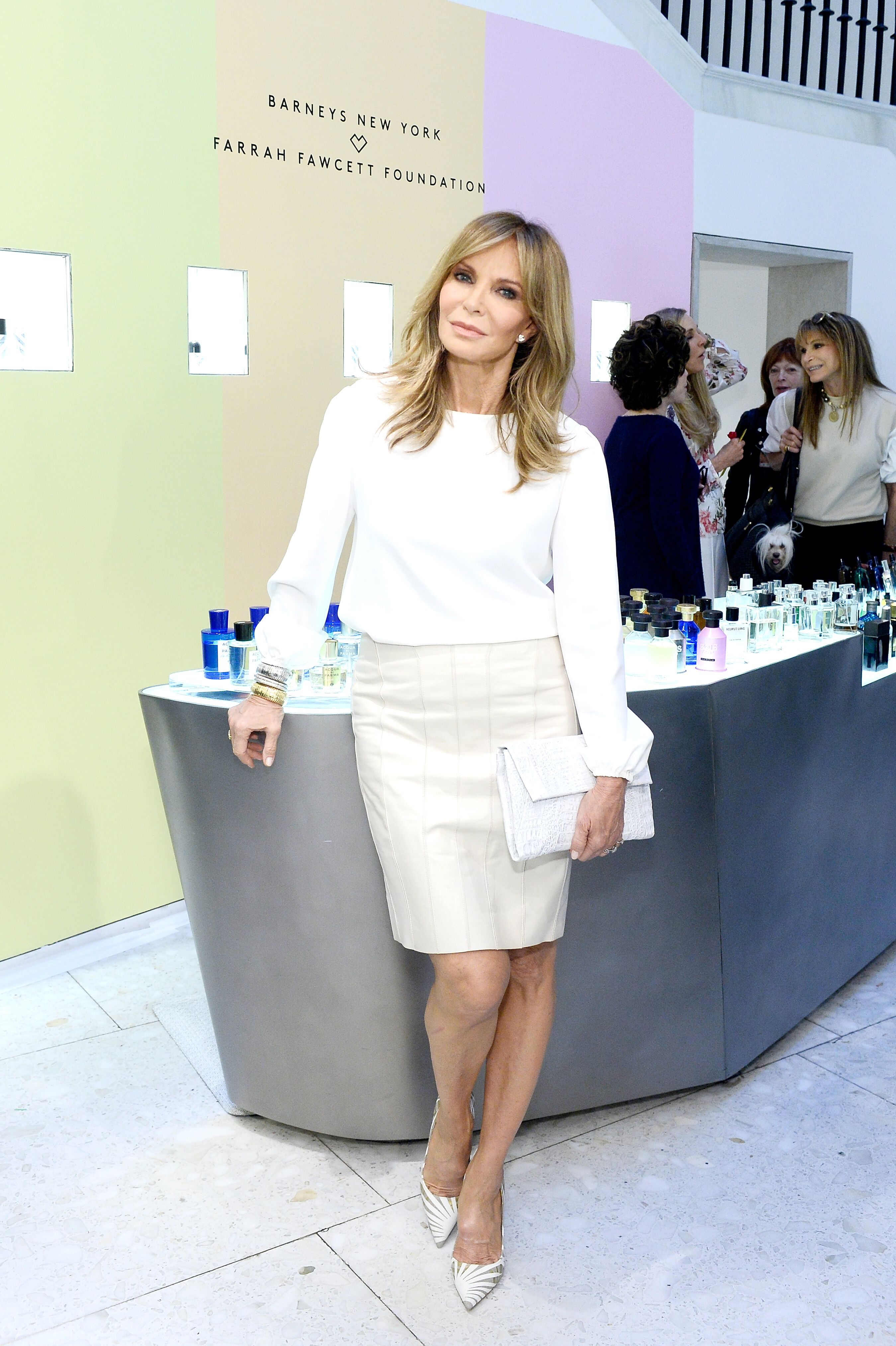 Jaclyn Smith attends Barneys New York Celebrates the Farrah Fawcett Foundation at Barneys New York Beverly Hills on May 23, 2018 in Beverly Hills, California. | Source: Getty Images
