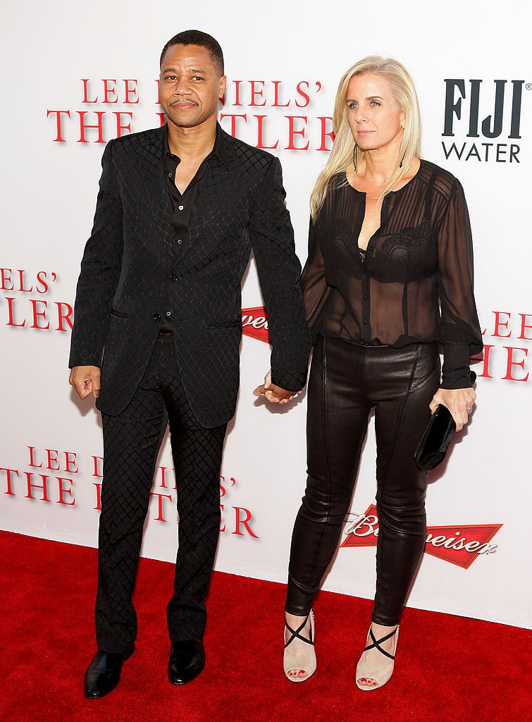 Cuba Gooding Jr.and Sara Kapfer attend LEE DANIELS' THE BUTLER Los Angeles premiere on August 12, 2013 | Photo: Getty Images