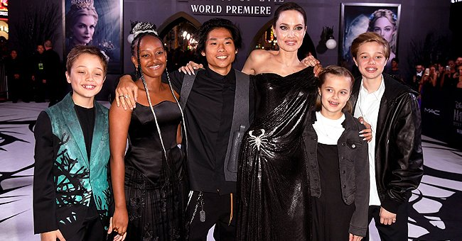 Angelina Jolie Didn't Think She Could Be Anybody's Mother