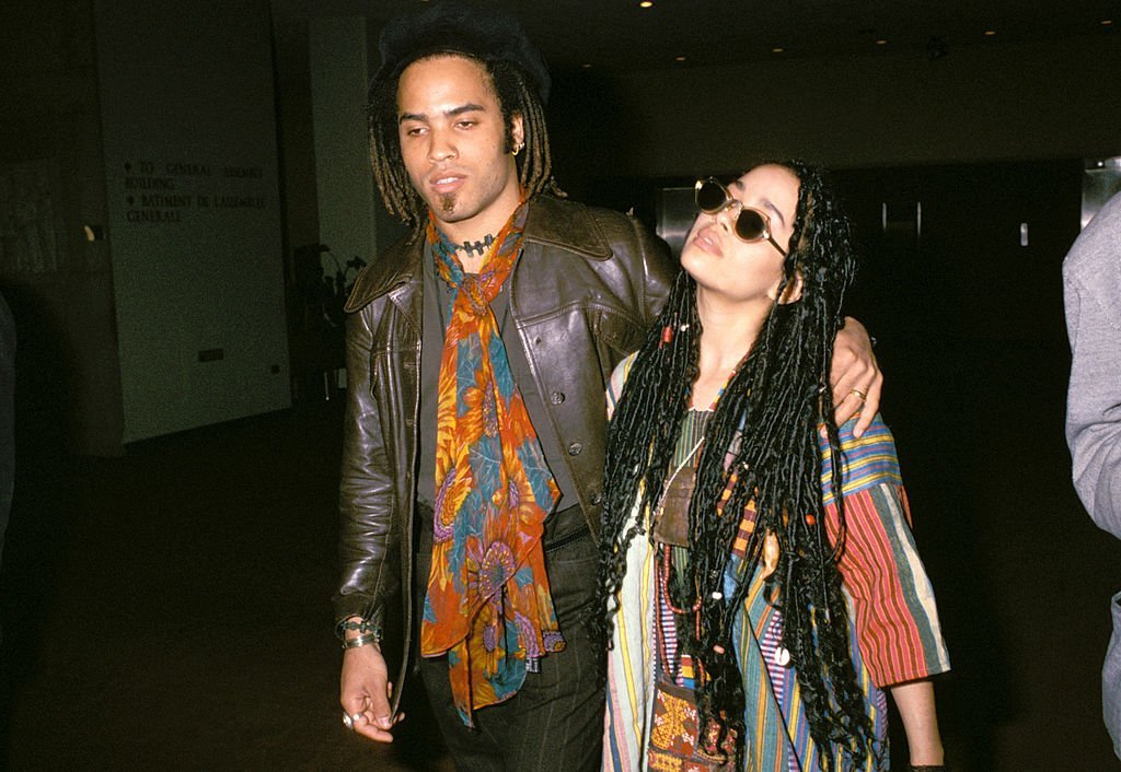 Lenny Kravitz and Lisa Bonet in NYC 1987 | Photo: GettyImages