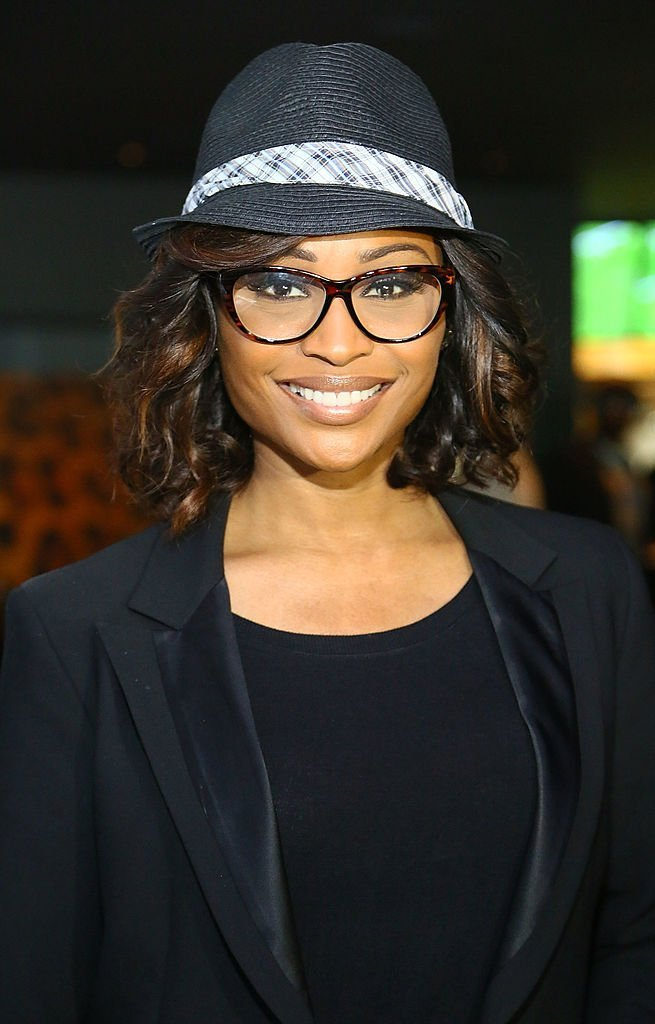 """Cynthia Bailey-Thomas attends the """"Carry-On Baggage, Our Non-Stop Flight"""" book launch event at Clyde Frazier's Wine and Dine in New York City 