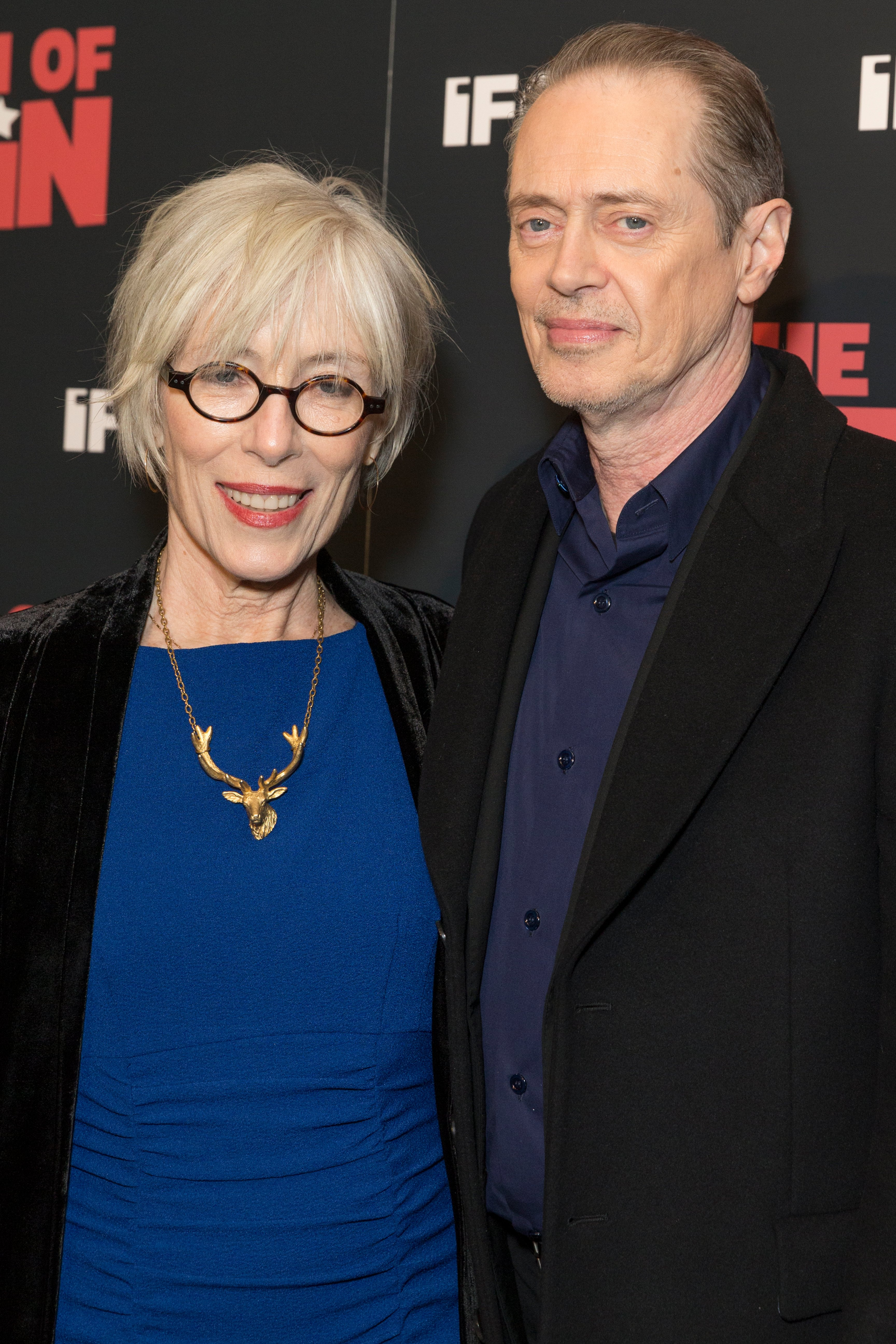 Jo Andres and Steve Buscemi attend New York premiere of IFC Film Death of Stalin at AMC Lincoln Square, March 8, 2018 | Photo: Shutterstock