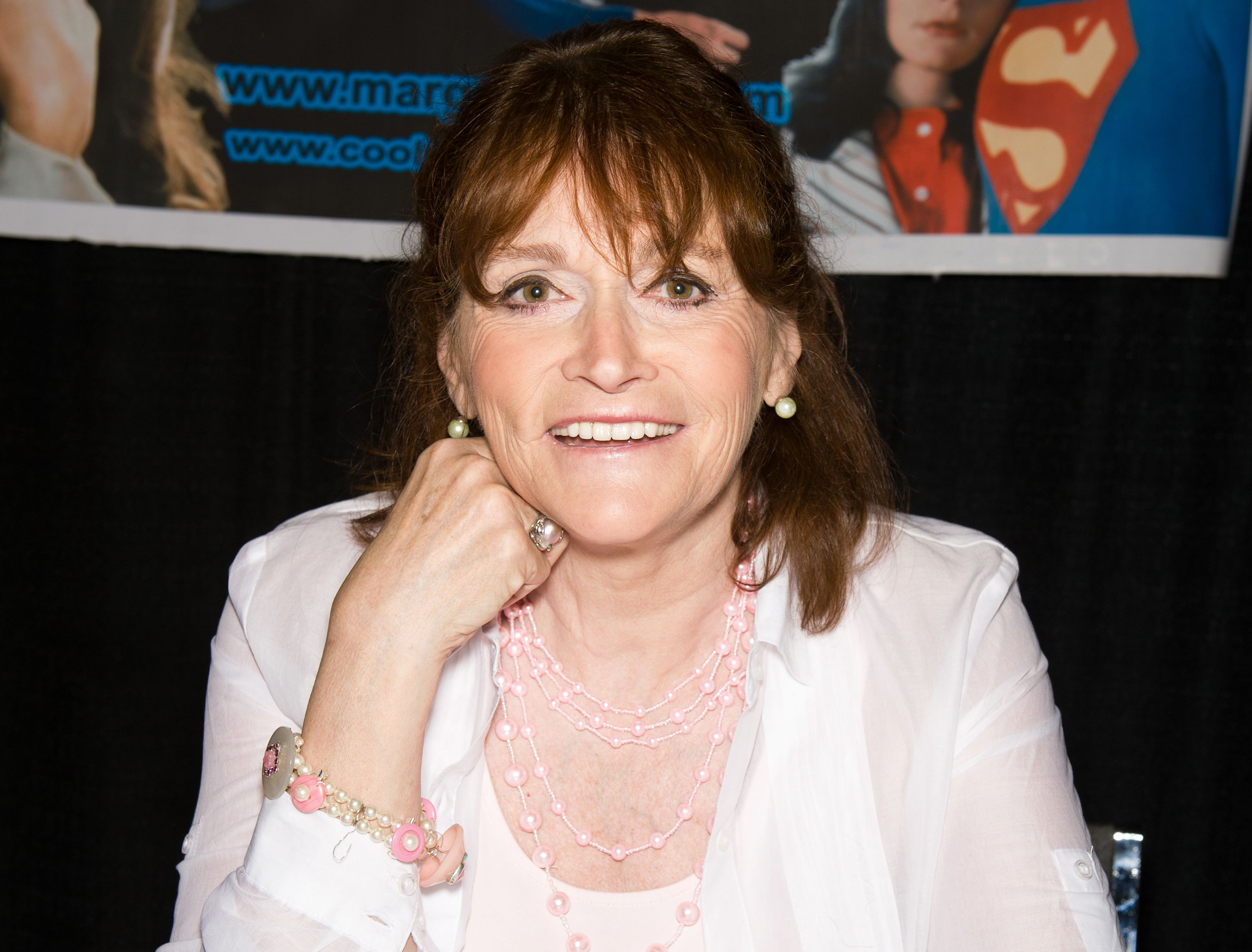 Margot Kidder atWizard World's Philadelphia Comic Con at the Pennsylvania Convention Center on June 18, 2011, in Philadelphia, Pennsylvania | Photo:Gilbert Carrasquillo/FilmMagic/Getty Images