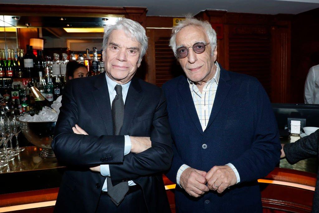 Bernard Tapie et Gérard Darmon. l Source : Getty Images