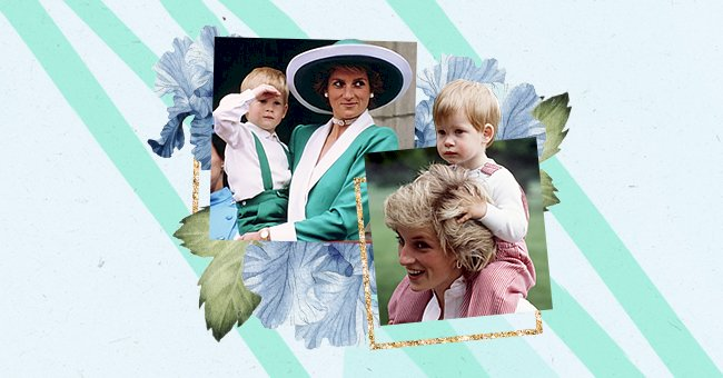 Our Pick: 10 Of The Sweetest Photos Of Princess Diana & Prince Harry