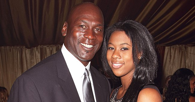 Michael Jordan's Daughter Proves She Has Inherited Dad's Brown Eyes While Posing in Close-Up Photo