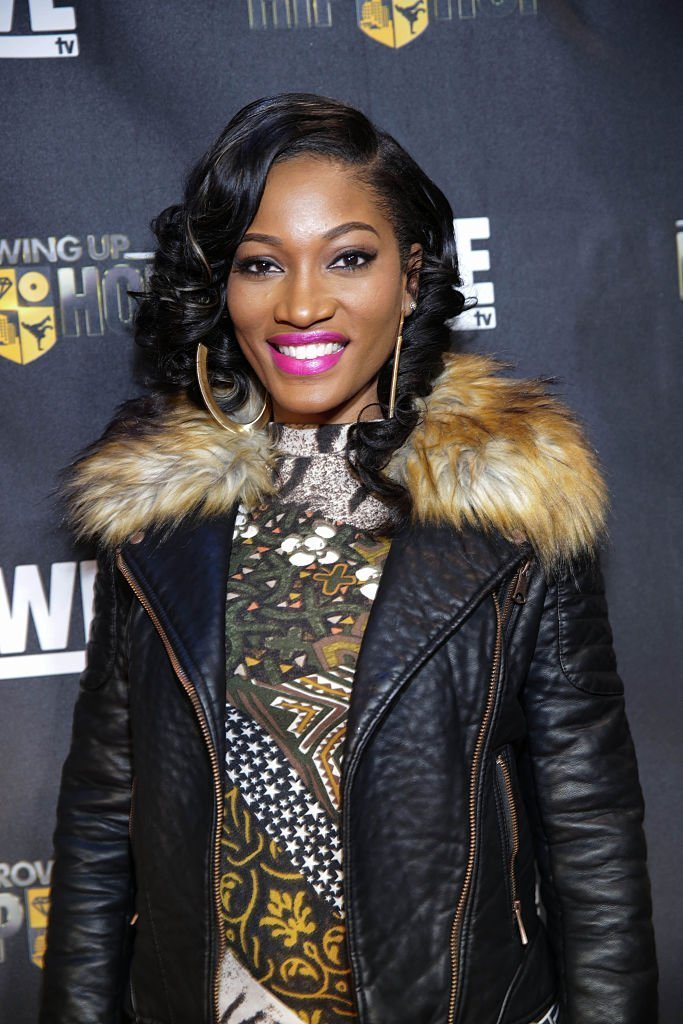 """Erica Dixon attends """"Growing Up Hip Hop"""" Atlanta premiere at SCADshow 