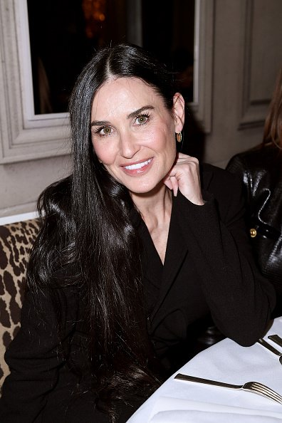 Demi Moore on February 29, 2020 in Paris, France. | Photo: Getty Images